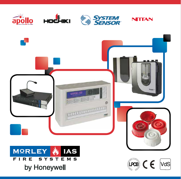Morley-IAS by Honeywell霍尼韦尔-消防和安防产品Fire and Security Products