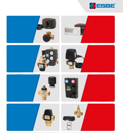 ESBE -阀门控制器和配件Valves controller and Accessories