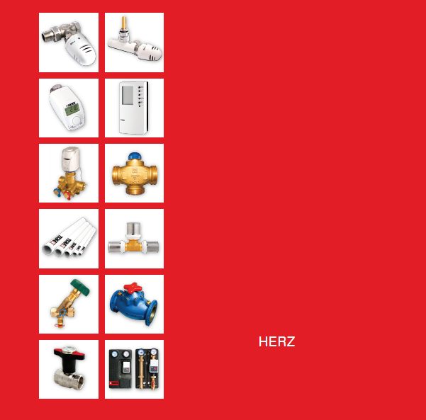 HERZ阀门和配件Valves and accessories