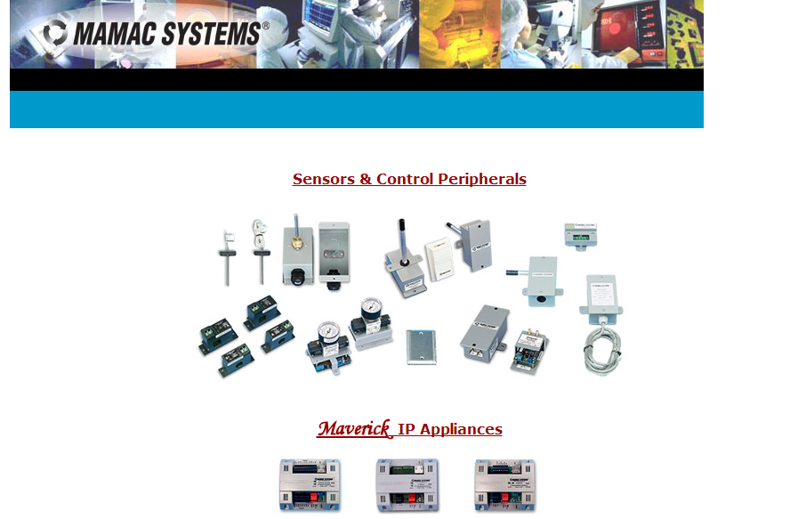 MAMAC Systems楼宇自控产品(传感器)Building Automation Control System
