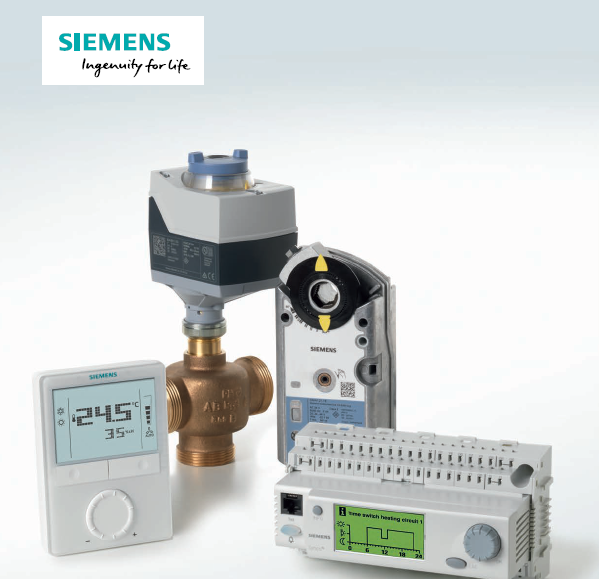 Siemens 西门子楼宇自动化控制系统Building Automation Control System(17+18BLYXO)