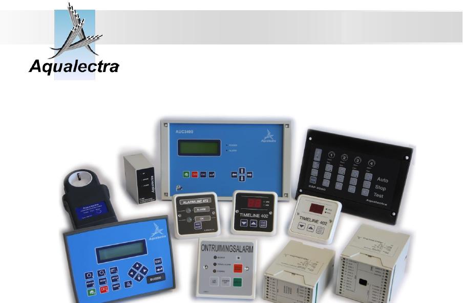 Aqualectra -电气控制产品Electronics Control