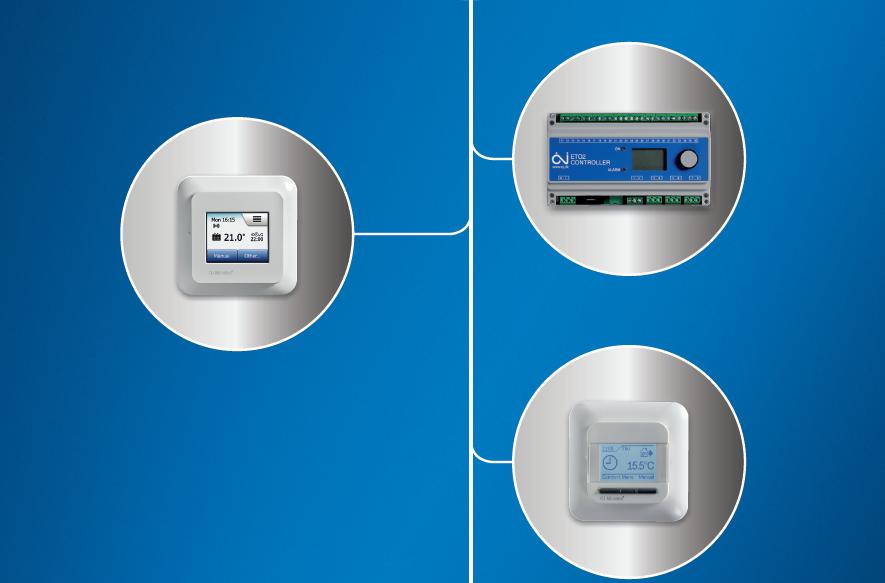 OJ ELECTRONICS 地暖智能控制intelligent controls - floor heating
