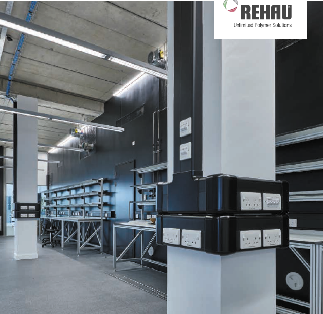 REHAU -线槽-电缆管理Trunking - Cable Management