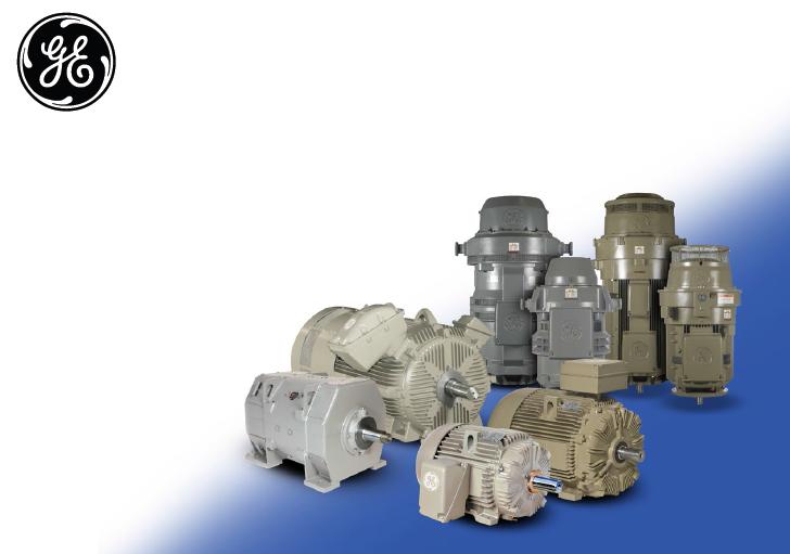 GE通用电气 - 工业电机(18)Motor