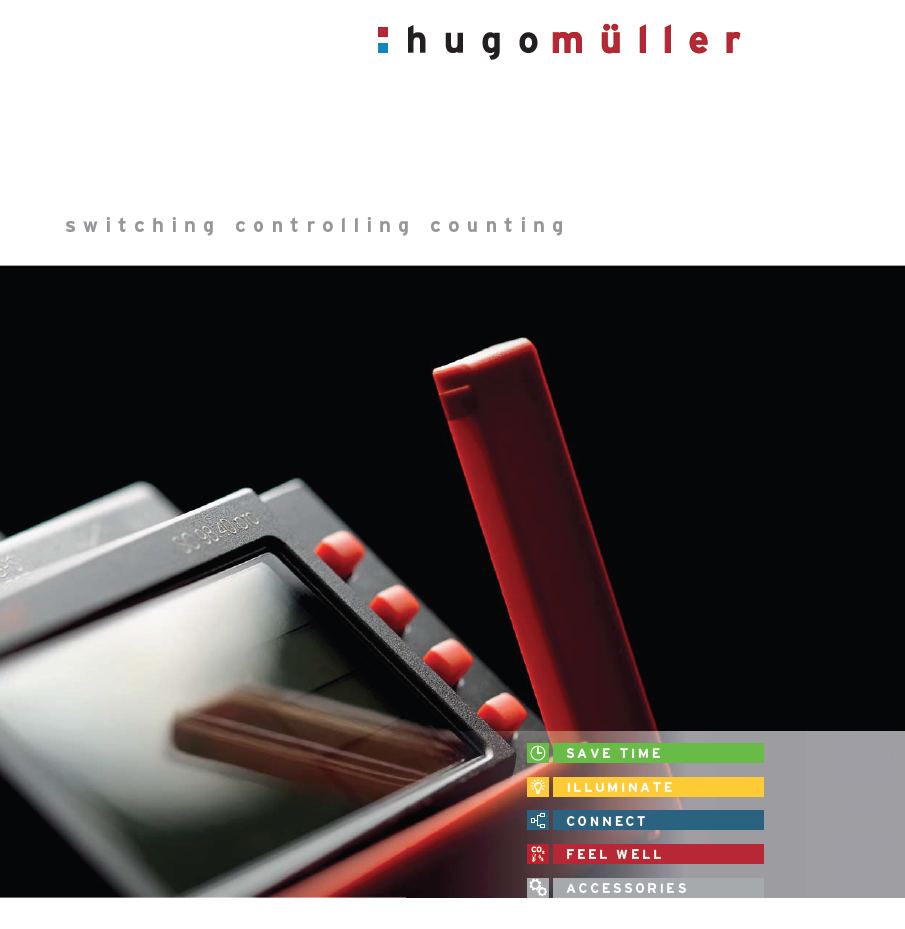 Hugo Müller/Hugo Muller 智能时间开关,控制和计数器Intelligent time switches, controls and counters