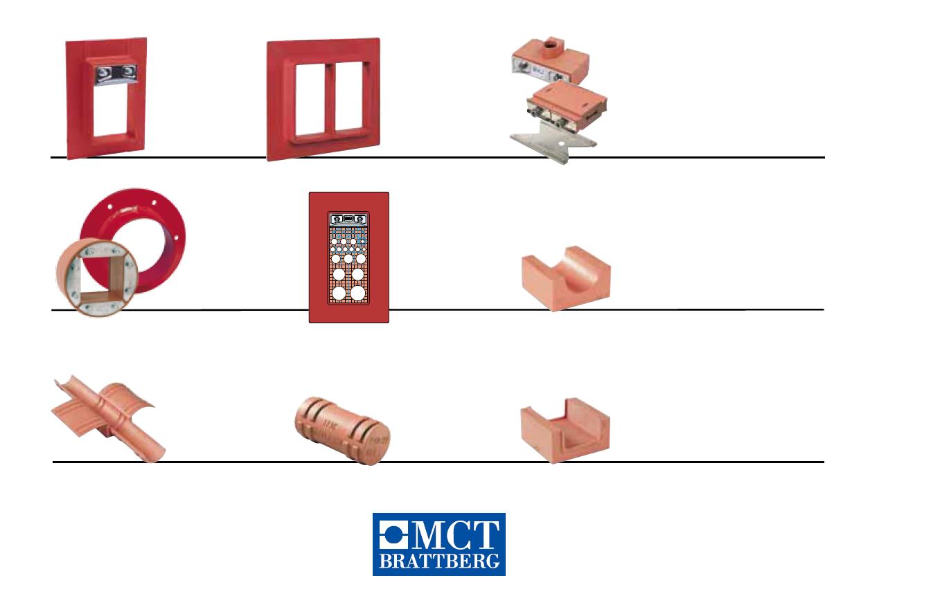 MCT Brattberg - MCT布拉特伯格-电缆和管道穿隔密封系统Cable and pipe penetration sealing system
