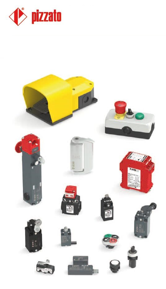 PIZZATO 安全继电器,限位开关,脚踏开关,拉线开关,安全开关,afety relay, limit switch, foot switch, safety switch... ....