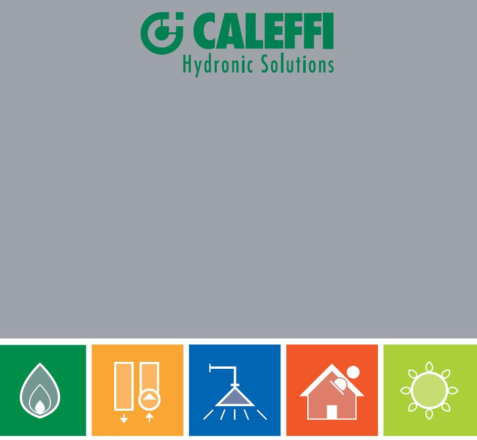 CALEFFI-卡莱菲- 阀门和五金配件Valves and hardware accessories