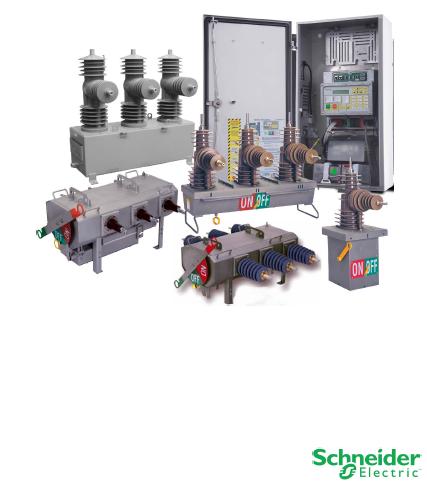 Schneider electric施耐德电气重合器和配件Reclosers and Parts (BYLDO)