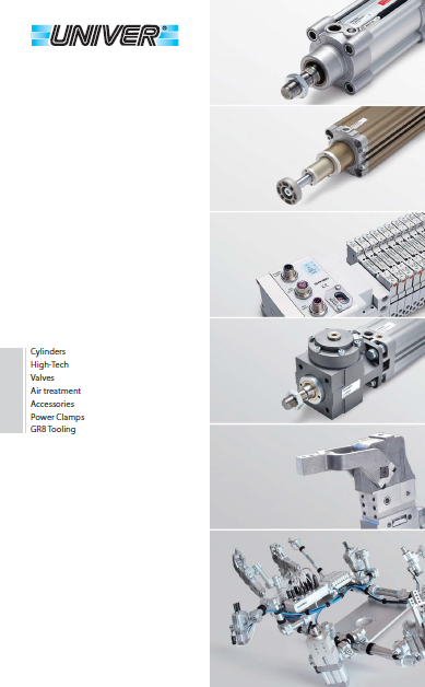 UNIVER 工业自动化(气动产品)Industrial automation (pneumatic products)